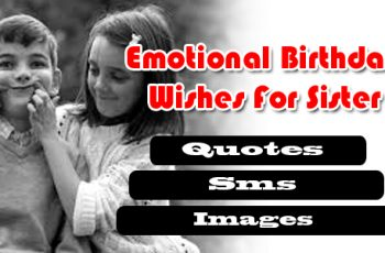 Emotional Happy birthday for sister, quotes, sms images