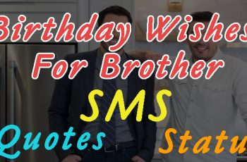 Top 60 Happy Birthday Brother Wishes, Quotes, Sms, Status Images